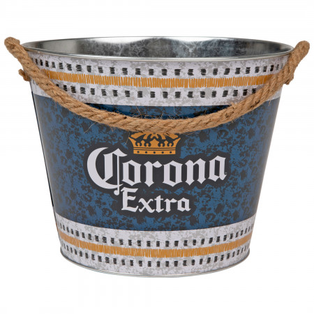 Corona Extra Stainless Steel Bucket with Rope Handle