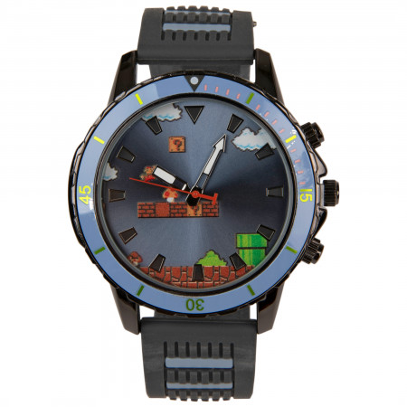 Super Mario Nintendo Watch with Silicone Band