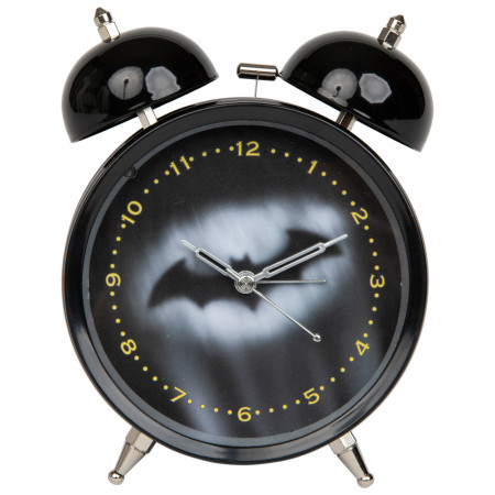 Batman Hush Symbol Night Sky Alarm Clock