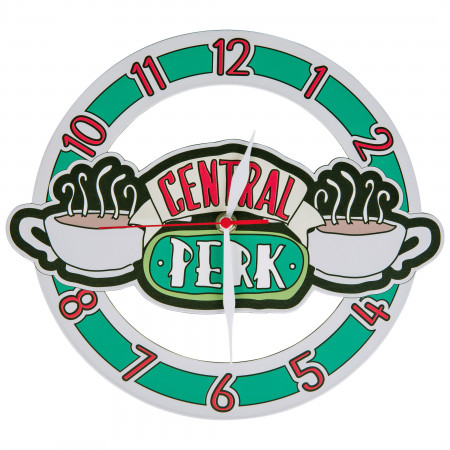 Friends Central Perk Symbol Wall Clock