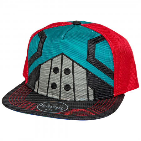 My Hero Academia Deku Suit Up Pre-Curved Bill Snapback