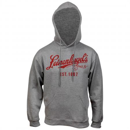 Leinenkugel Beer Logo Grey Hoodie