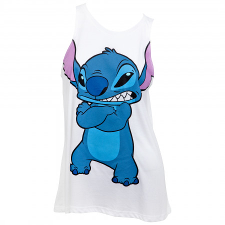 Disney's Lilo Character Not in the Mood Juniors Tank Top