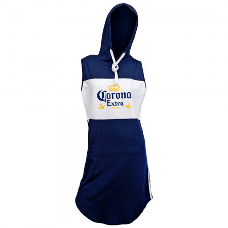 Corona Extra Label Hooded Sleeveless Top