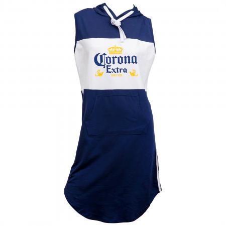 Corona Extra Label Hooded Sleeveless Top