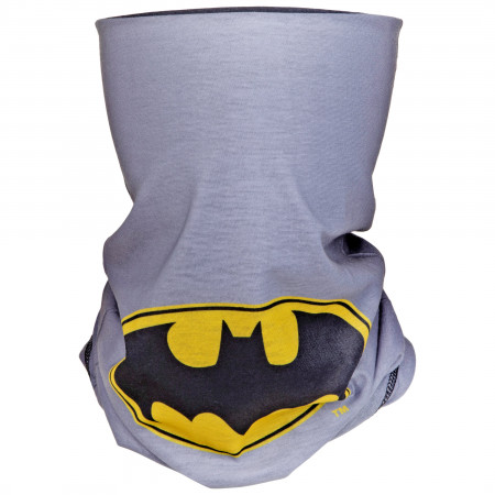 Batman Logo Centered Full Face Mask Gaiter Tubular Bandana