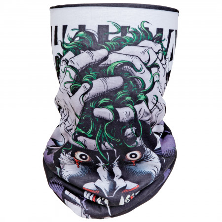 Joker The Killing Joke Hahaha's Full Face Mask Gaiter Tubular Bandana