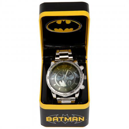 Batman Silver Band Analog Watch