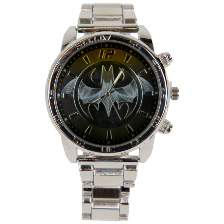 Batman Silver Band Analog Watch