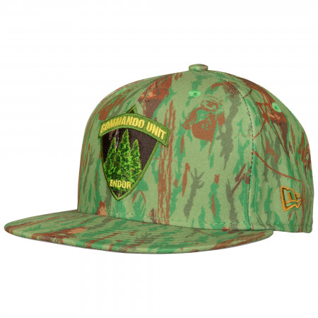 Star Wars Endor Commando Unit Wood Camo 59Fifty Cap