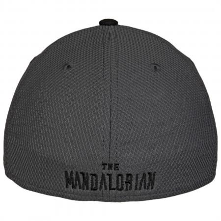 Star Wars Mandalorian Mudhorn Sigil Diamond Tech New Era 39Thirty Fitted Hat