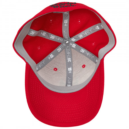 Scarlet Witch Symbol Diamond Tech New Era 39Thirty Fitted Hat