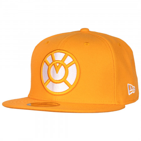 Orange Lantern Color Block New Era 59Fifty Fitted Hat