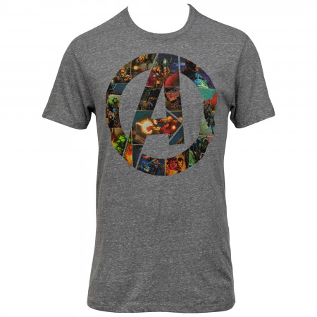 Avengers Filled Logo T-Shirt