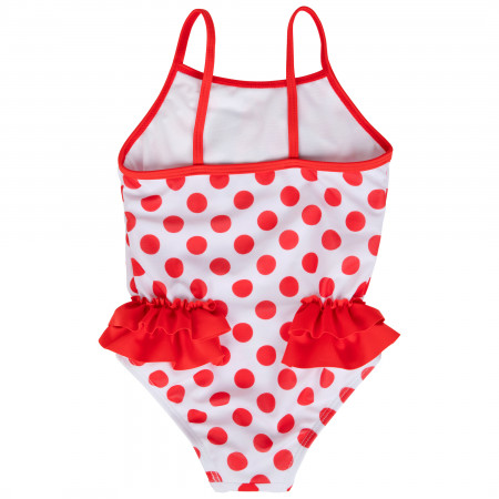 Disney Minnie Mouse Red Polka Dot One Piece Toddlers Swimsuit