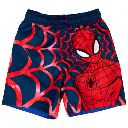 Spider-man Spider Sense Toddler Swim Trunks