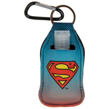 Superman Symbol Quick Clip Hand Sanitizer