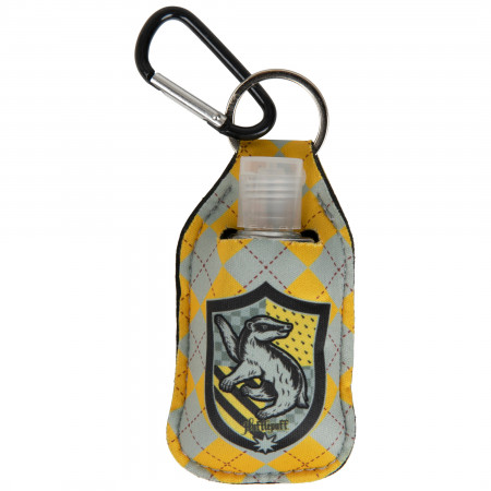 Harry Potter Hufflepuff House Crest Quick Clip Hand Sanitizer