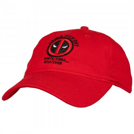 "Deadpool ""Have A Nice Day"" Dad Hat"