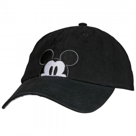 Disney Mickey Mouse Peek A Boo Comic Adjustable Dad Hat