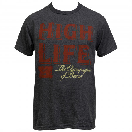 Miller High Life The Champion of Beers Badge T-Shirt