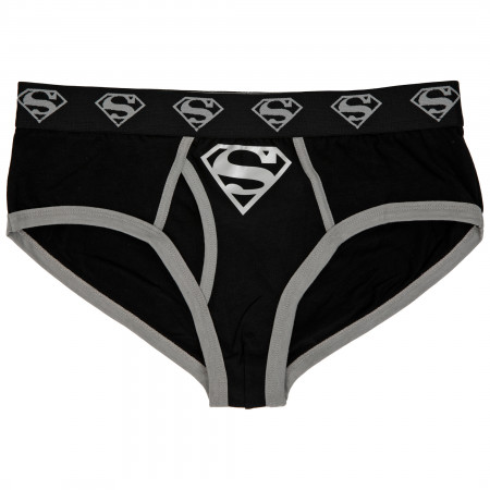 Superman Silver Logo Men's Underwear Fashion Briefs
