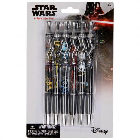 Star Wars Jazz Pens 6 Pack