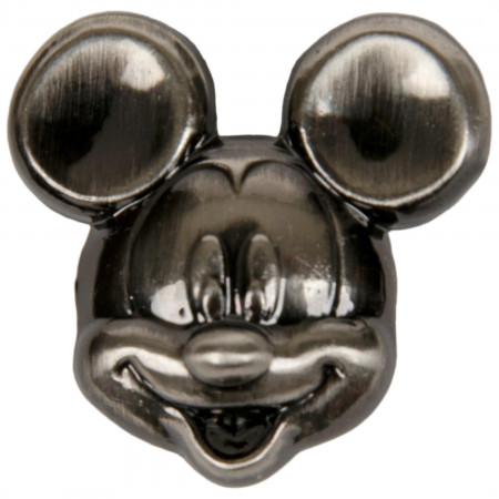 Mickey Mouse Head Pewter Lapel Pin