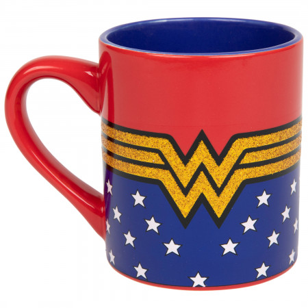 Wonder Woman Classic Symbol 14 Ounce Ceramic Mug