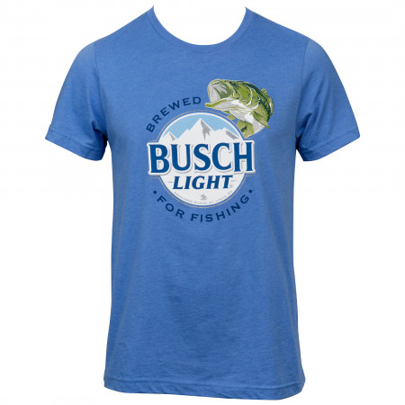 Busch Light Brewed for Fishing Blue Colorway T-Shirt