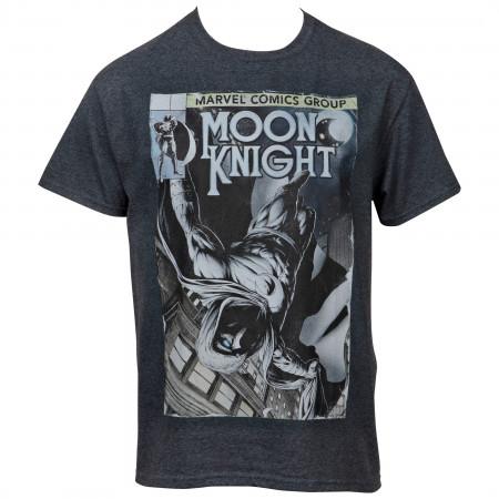 Marvel Moon Knight Comic Image T-shirt