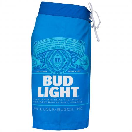 Bud Light Label Board Shorts