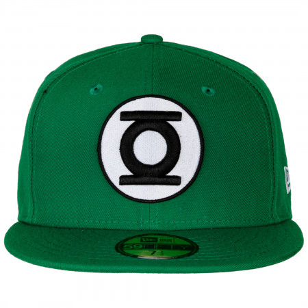 Green Lantern Color Block New Era 59Fifty Fitted Hat