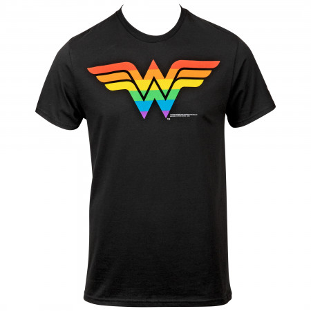Wonder Woman Rainbow Symbol T-Shirt