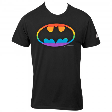Batman Rainbow Symbol T-Shirt