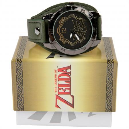 The Legend of Zelda Watch with Adjustable Band