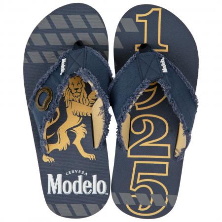 Modelo 1925 Bottle Opener Flip Flop Sandals