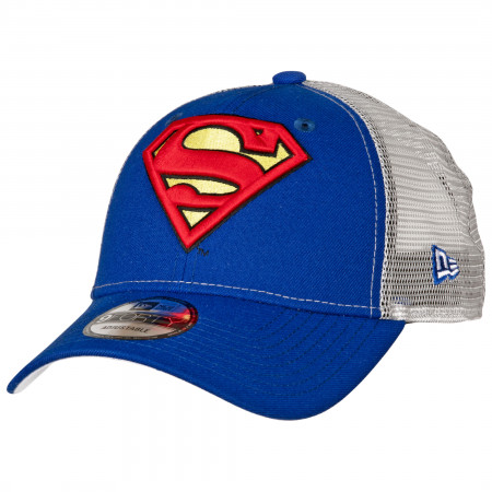 Superman Symbol Trucker New Era 9Forty Adjustable Hat