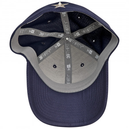 Winter Soldier Symbol Blue New Era 39Thirty Fitted Hat