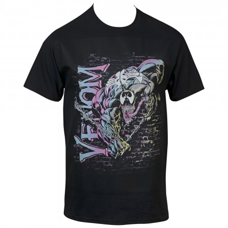 Marvel Comics Venom Swinging Brick T-Shirt