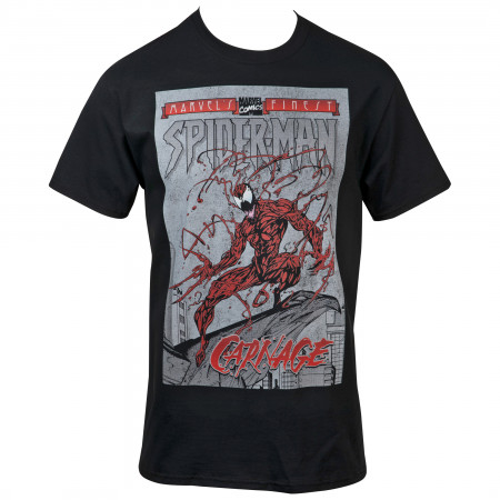 Marvel's Comics Finest Carnage Comic Cover T-Shirt