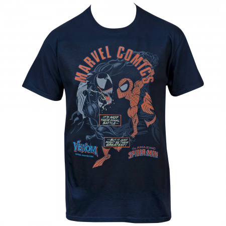 Marvel Comics Amazing Spider-Man VS Lethal Protector Venom T-Shirt