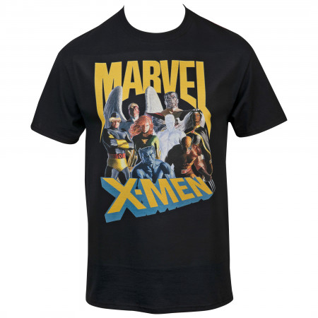 Marvel X-Men Characters Lineup T-Shirt