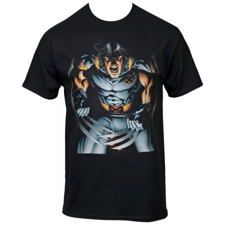 Marvel X-Men Wolverine Claws Out T-Shirt