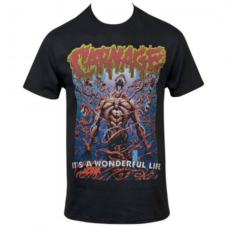 Marvel's Comics Carnage It's a Wonderful Life T-Shirt