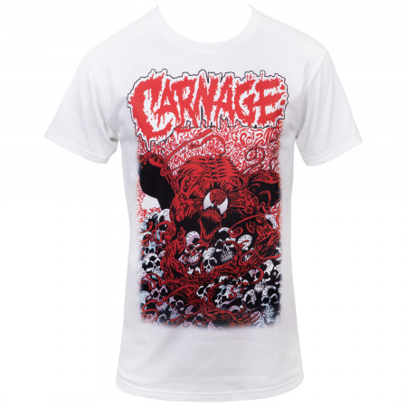 Marvel's Comics Carnage Mind Bomb #1 Comic Cover T-Shirt