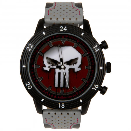 The Punisher Marvel Symbol Watch