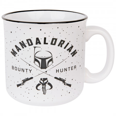 Star Wars The Mandalorian Hunter 20oz Ceramic Camper Mug