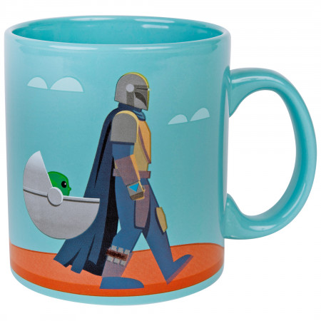 Star Wars The Mandalorian The Force Is Strong Mug