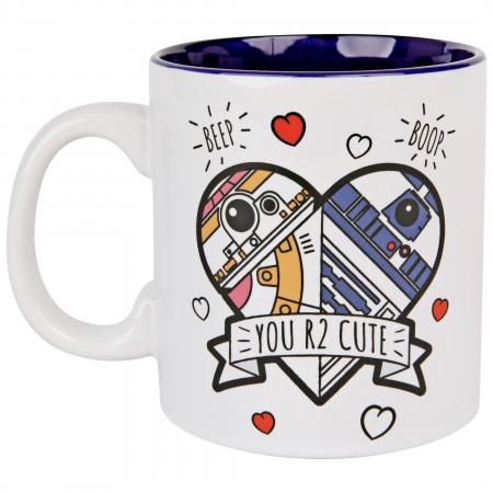 Star Wars You R2 Cute 20oz Ceramic Mug